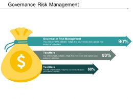 Governance Risk Management Ppt Powerpoint Presentation Inspiration Outfit Cpb