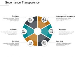 Governance Transparency Ppt Powerpoint Presentation Inspiration Backgrounds Cpb