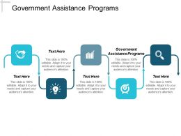 Government Assistance Programs Ppt Powerpoint Presentation Pictures Themes Cpb