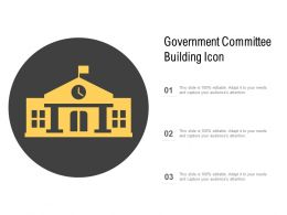 Government Committee Building Icon