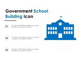Government School Building Icon