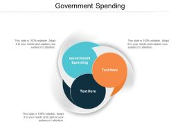 Government Spending Ppt Powerpoint Presentation File Picture Cpb