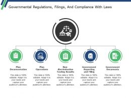 Governmental Regulations Filings And Compliance With Laws Ppt Summary Good