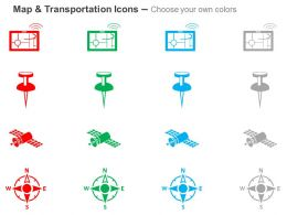 gps_app_pin_direction_locatar_travel_destination_ppt_icons_graphics_Slide02