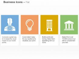 Gps Home Office Bank Idea Ppt Icons Graphics
