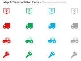 gps_locater_truck_tractor_key_ppt_icons_graphics_Slide02