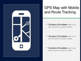 Gps Map With Mobile And Route Tracking