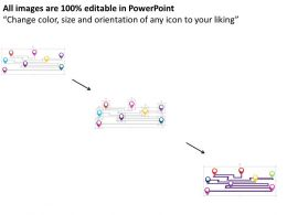 gps_navigation_with_multiple_points_flat_powerpoint_design_Slide02