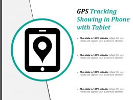 Gps Tracking Showing In Phone With Tablet