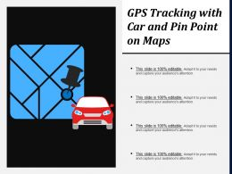 Gps Tracking With Car And Pin Point On Maps