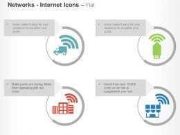 gps_truck_usb_home_network_with_wifi_ppt_icons_graphics_Slide01