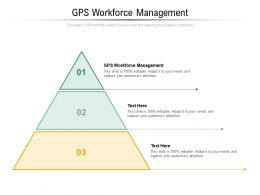 Gps Workforce Management Ppt Powerpoint Presentation Icon Graphic Tips Cpb