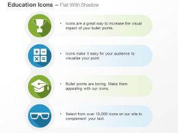 Graduation Arithmetic Symbols For Success Ppt Icons Graphics