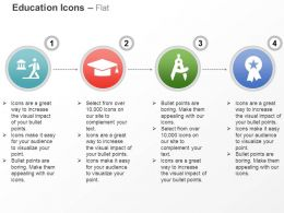 graduation_cap_star_performer_compass_ppt_icons_graphics_Slide01