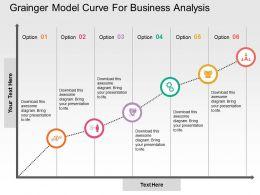 grainger_model_curve_for_business_analysis_flat_powerpoint_design_Slide01
