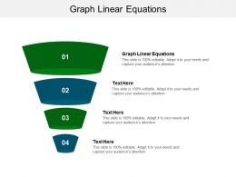 Graph Linear Equations Ppt Powerpoint Presentation File Graphics Cpb