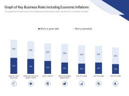 Graph Of Key Business Risks Including Economic Inflations