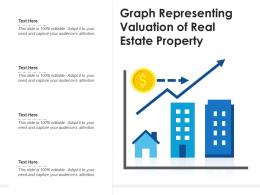 Graph Representing Valuation Of Real Estate Property