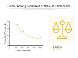 Graph Showing Economies Of Scale Of 3 Companies