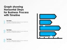 Graph Showing Horizontal Steps For Business Process With Timeline