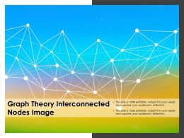 Graph Theory Interconnected Nodes Image