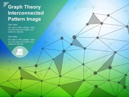 Graph Theory Interconnected Pattern Image