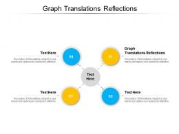 Graph Translations Reflections Ppt Powerpoint Presentation Pictures Maker Cpb