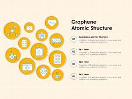 Graphene Atomic Structure Ppt Powerpoint Presentation Model Ideas