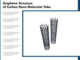 Graphene Structure Of Carbon Nano Molecular Tube