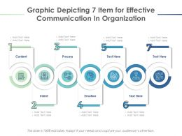Graphic Depicting 7 Item For Effective Communication In Organization
