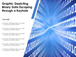 Graphic Depicting Binary Data Escaping Through A Keyhole