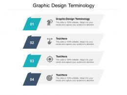 Graphic Design Terminology Ppt Powerpoint Presentation Icon Clipart Cpb