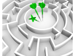 graphic_of_square_maze_with_darts_in_center_stock_photo_Slide01