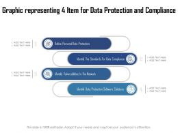 Graphic Representing 4 Item For Data Protection And Compliance