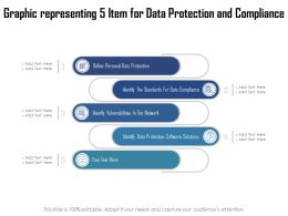 Graphic Representing 5 Item For Data Protection And Compliance