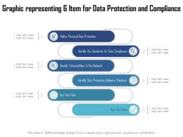 Graphic Representing 6 Item For Data Protection And Compliance