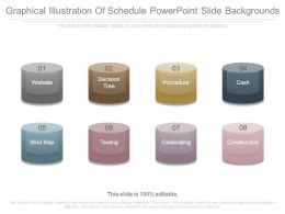 Graphical Illustration Of Schedule Powerpoint Slide Backgrounds