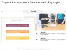 Graphical Representation In Data Structure For Key Insights Infographic Template