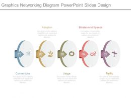 Graphics Networking Diagram Powerpoint Slides Design