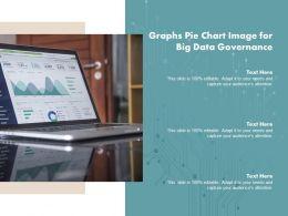 Graphs Pie Chart Image For Big Data Governance
