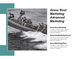 Grass Root Marketing Advanced Marketing Service Direct Marketing Plans Cpb
