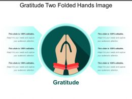 Gratitude Two Folded Hands Image