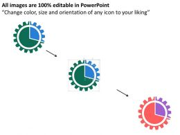 grear_with_percentage_for_result_analysis_flat_powerpoint_design_Slide02