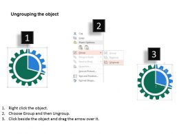grear_with_percentage_for_result_analysis_flat_powerpoint_design_Slide03