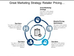 Great Marketing Strategy Retailer Pricing Optimization Organizational Change Cpb