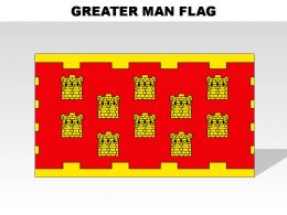 Greater Man Country Powerpoint Flags