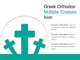 Greek Orthodox Multiple Crosses Icon