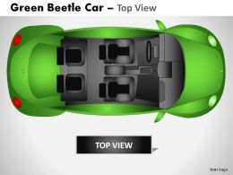 green_beetle_car_top_view_powerpoint_presentation_slides_Slide02