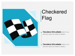 Green Checkered Flag