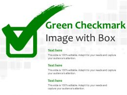 Green Checkmark Image With Box